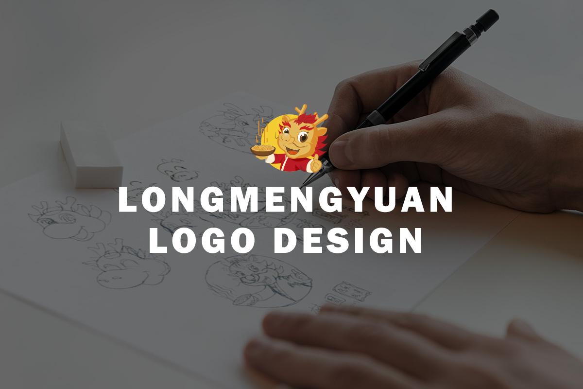 龙梦圆原创手绘logo