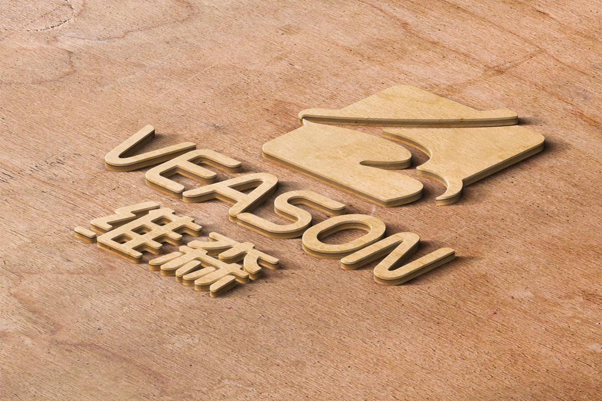 维森logo立体效果