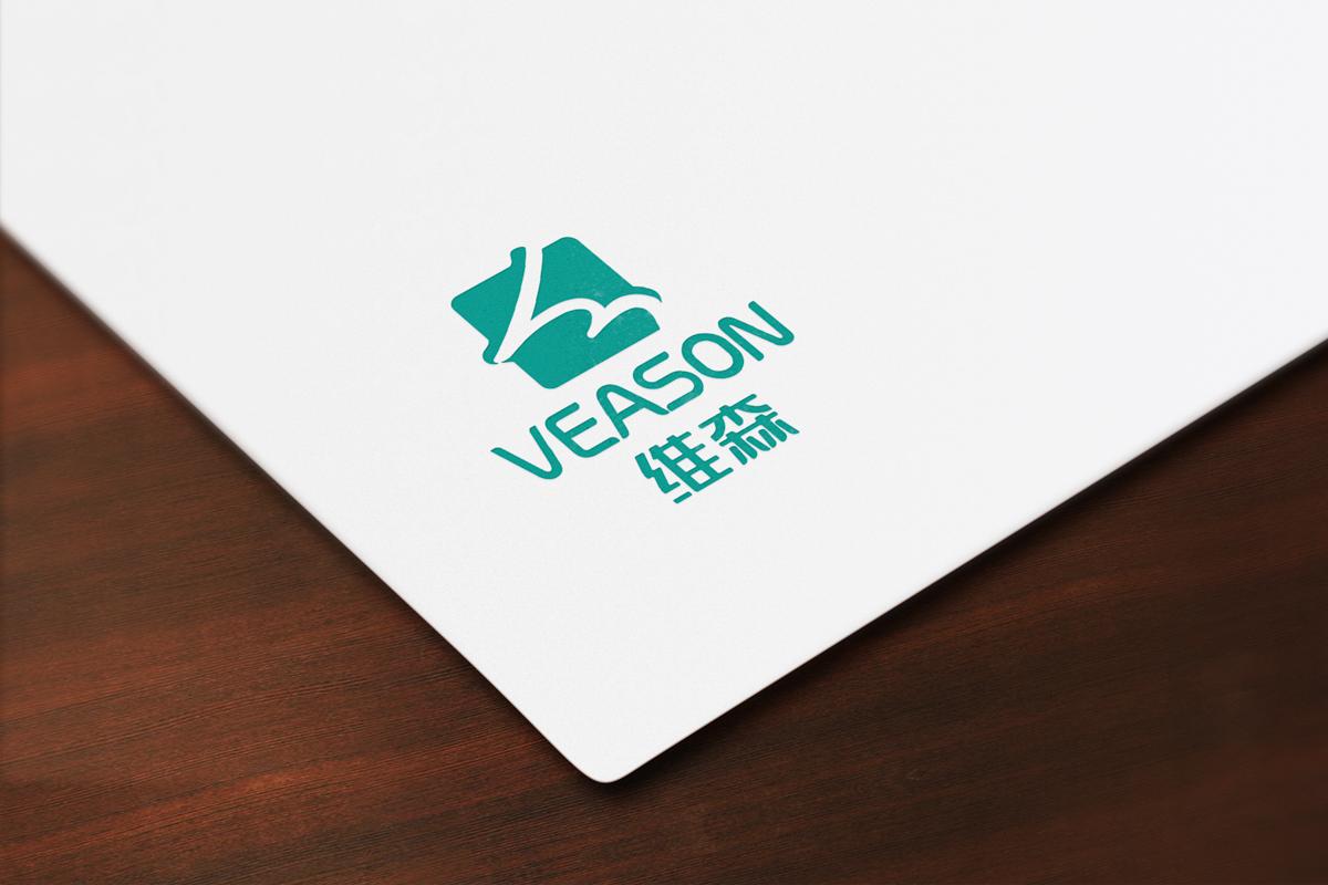 维森logo印刷效果
