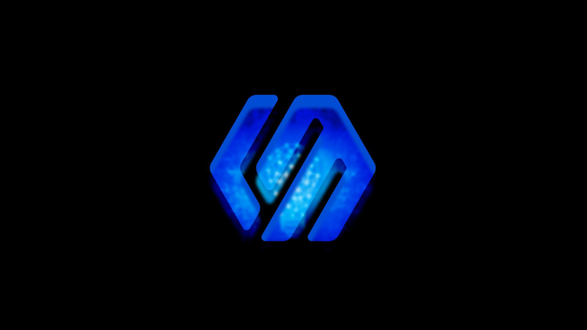 蓝美logo设计效果