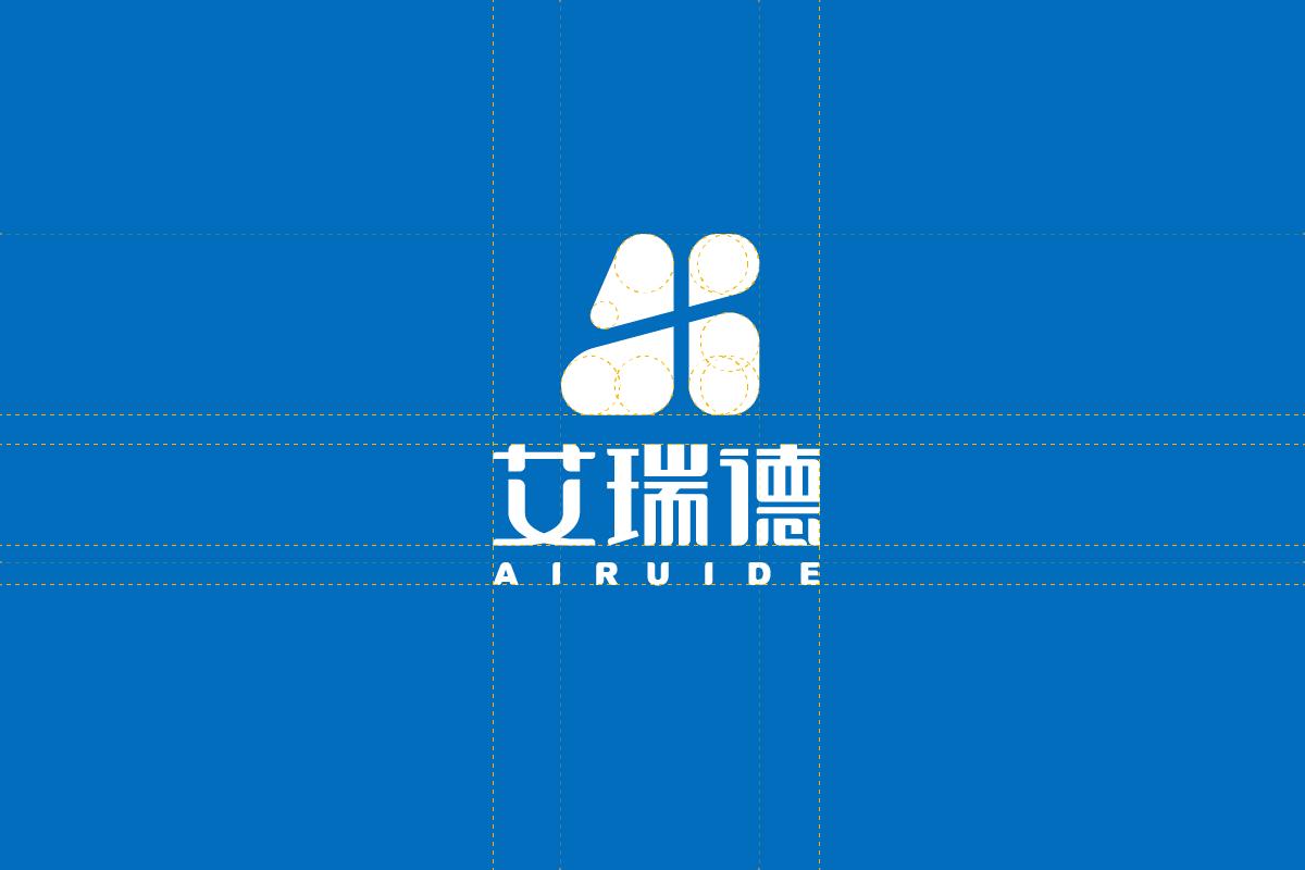 艾瑞德logo反白设计