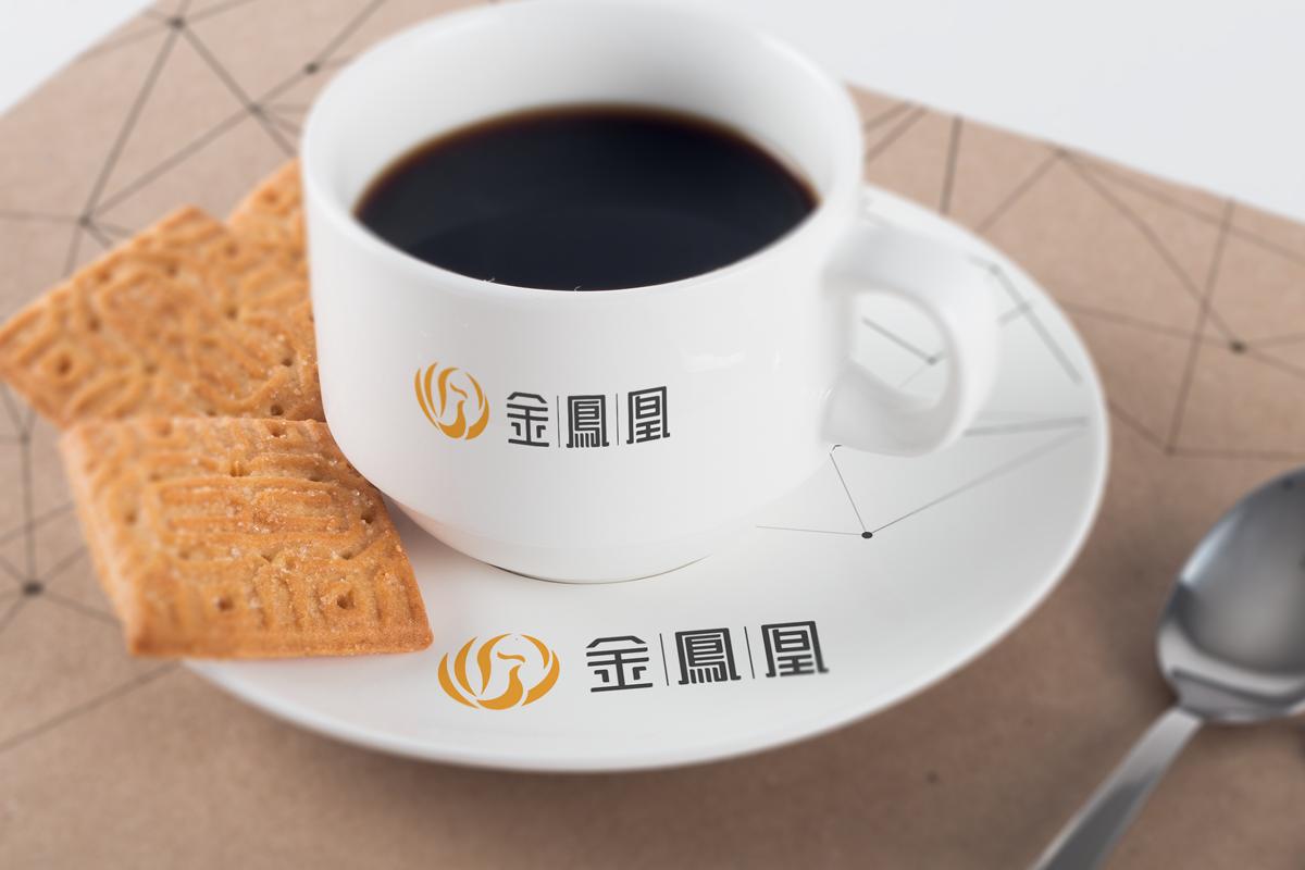 金凤凰_vi设计_咖啡杯
