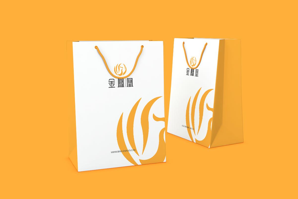 金凤凰_vi设计_手提袋