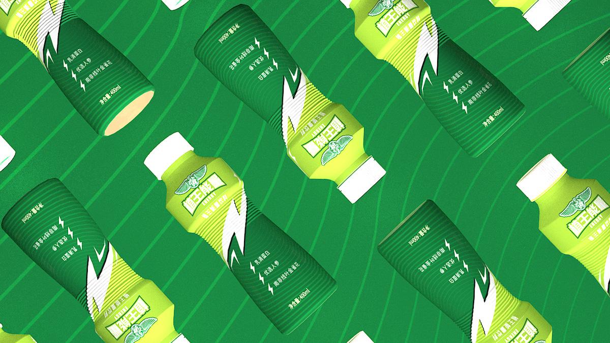 饮料包装设计效果方案A