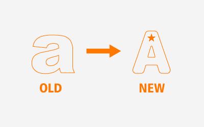 推翻旧logo进行重新设计!
