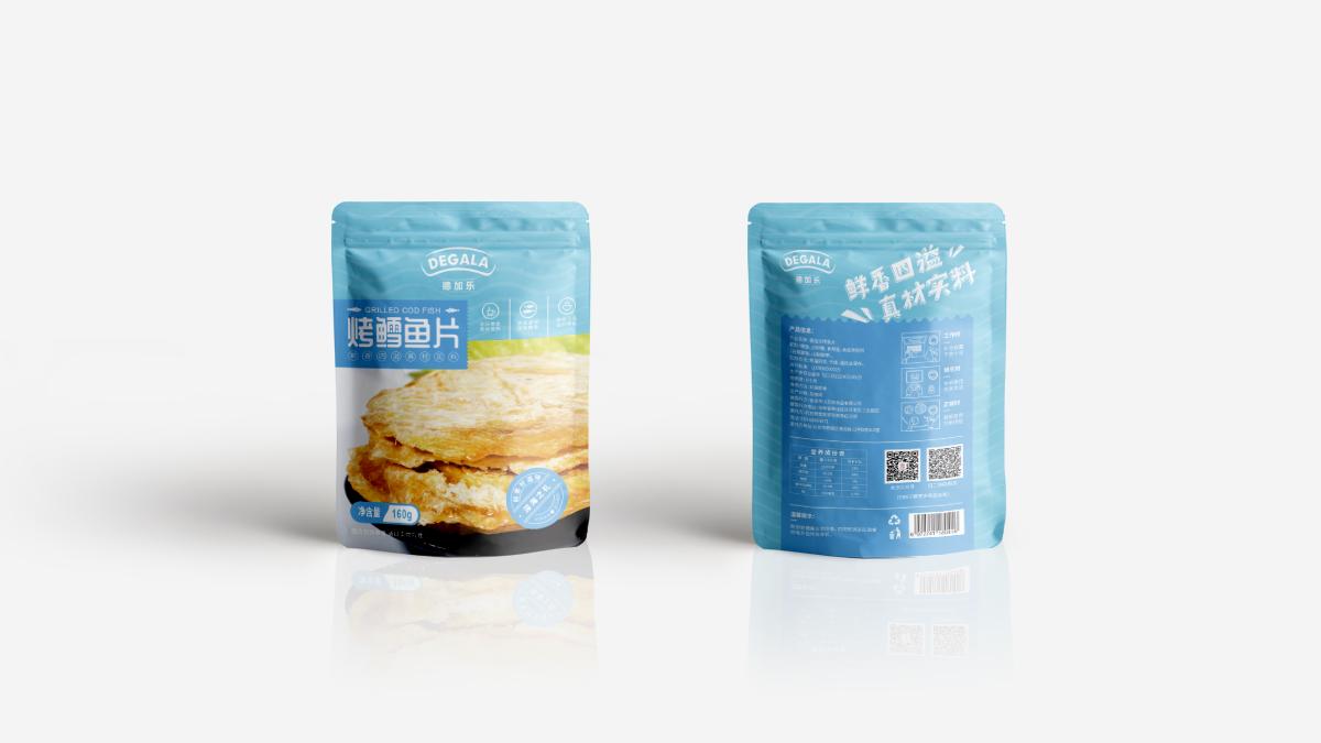 烤鱼片包装设计