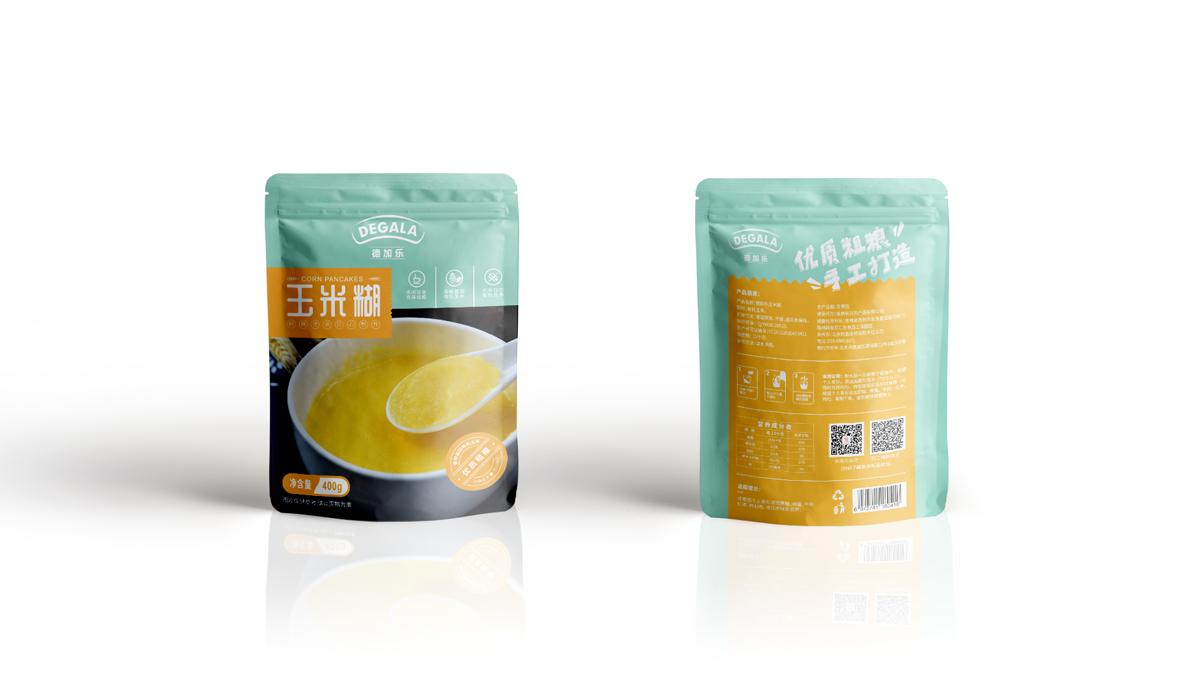 玉米糊包装设计